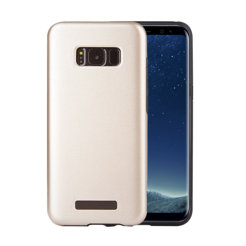 Buy For Samsung Galaxy S8 Metal Brushed Texture Protective Back Case, Gold for $2.16 in SUNSKY store