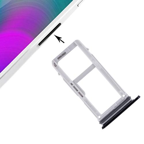 SIM Card Tray + Micro SD Card Tray for Galaxy A3 (2017) / A320(Black) фото