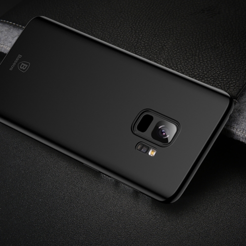 Baseus for Galaxy S9 Ultra-Thin Frosted PP Protective Cover Back Case( (Black) protective frosted ultra thin pp back cover case for iphone 6 plus 5 5 black