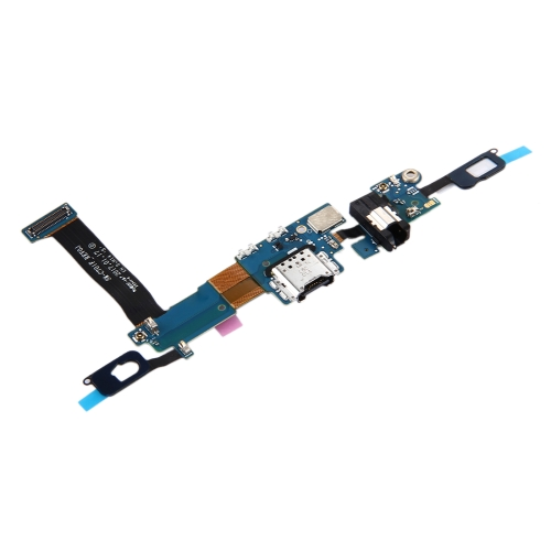 Buy iPartsBuy for Samsung Galaxy C7 Pro / C701F Charging Port + Home Button + Earphone Jack Flex Cable for $6.10 in SUNSKY store