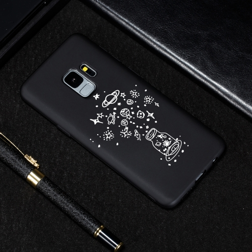 Wishing Bottle Painted Pattern Soft TPU Case for Galaxy S9