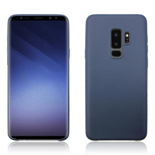 Buy For Samsung Galaxy S9+ Pure Color TPU Dropproof Protective Back Cover Case (Dark Blue) for $1.11 in SUNSKY store
