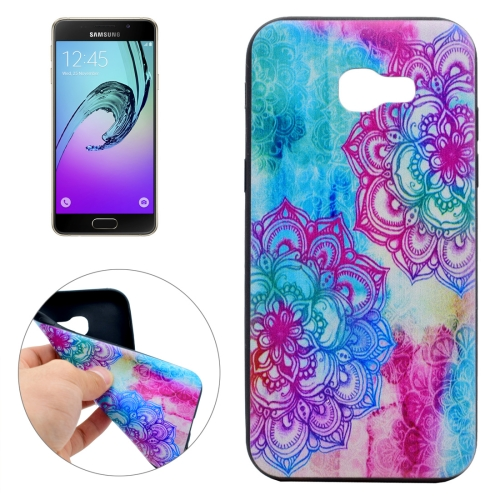 Buy For Samsung Galaxy A3, 2017 / A320 Bright Flower Pattern Soft TPU Protective Case for $1.16 in SUNSKY store