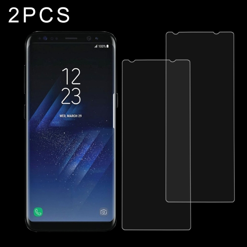 Buy 2 PCS for Samsung Galaxy S8 0.26mm 9H Surface Hardness Explosion-proof Non-full Screen Tempered Glass Screen Film for $1.20 in SUNSKY store