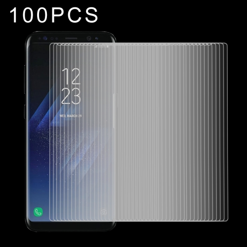Buy 100 PCS for Samsung Galaxy S8 0.26mm 9H Surface Hardness Explosion-proof Tempered Glass Screen Film for $27.77 in SUNSKY store