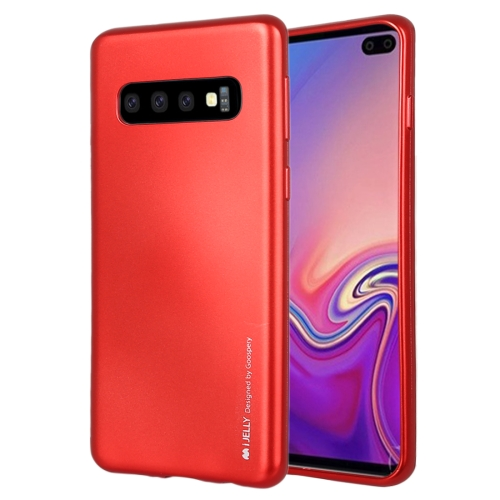 MERCURY GOOSPERY I JELLY METAL TPU Case for Galaxy S10 (Red)