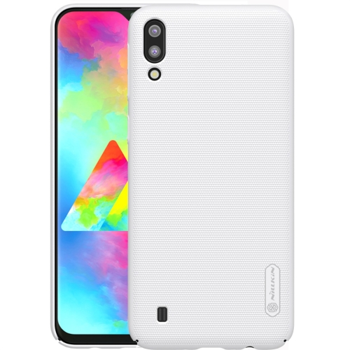 NILLKIN Frosted Concave-convex Texture PC Case for Galaxy M10 (White)