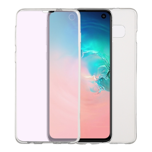 Ultra-thin Double-sided Full Coverage Transparent TPU Case for Galaxy S10