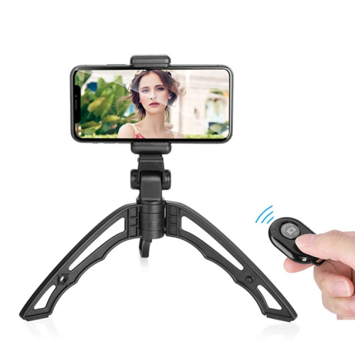 CAOMING Portable Folding Desktop Stand Rotation Tripod for GoPro Durable Black