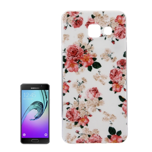 Buy For Samsung Galaxy A5, 2016 / A510 IMD Flower Pattern Soft TPU Protective Case Back Cover for $1.15 in SUNSKY store