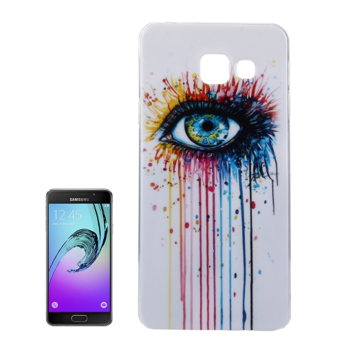 Buy For Samsung Galaxy A5, 2016 / A510 IMD Painting Eye Pattern Soft TPU Protective Case Back Cover for $1.15 in SUNSKY store