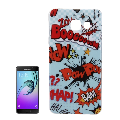 Buy For Samsung Galaxy A5, 2016 / A510 IMD Words Scrawl Pattern Soft TPU Protective Case Back Cover for $1.15 in SUNSKY store