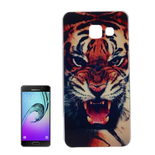 Buy For Samsung Galaxy A5, 2016 / A510 IMD Tiger Pattern Soft TPU Protective Case Back Cover for $1.15 in SUNSKY store
