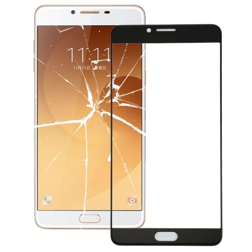 Buy iPartsBuy for Samsung Galaxy C9 Pro / C900 Front Screen Outer Glass Lens, Black for $2.02 in SUNSKY store