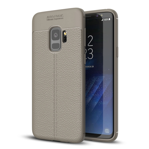 Buy For Samsung Galaxy S9 Litchi Texture Soft TPU Anti-skip Protective Cover Back Case, Small Quantity Recommended Before Samsung Galaxy S9 Launching, Grey for $2.28 in SUNSKY store