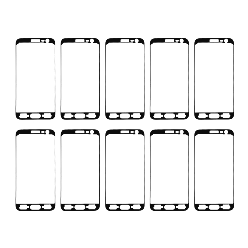 10 PCS for Galaxy J3 (2016) / J320 Front Housing Adhesive
