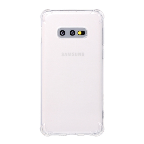 Shockproof TPU Protective Case for Galaxy S10 E (Transparent)