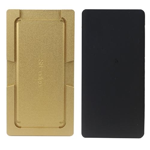 JIAFA for Galaxy S8 / G950 Precision Screen Refurbishment Mould Molds(Gold)