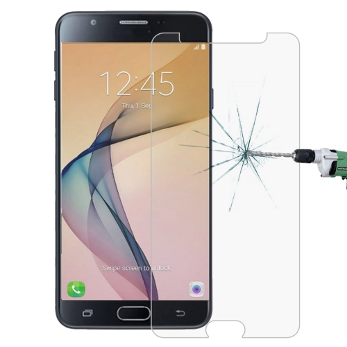 For Galaxy J7 Prime 0.26mm 9H Surface Hardness 2.5D Explosion-proof Tempered Glass Screen Film