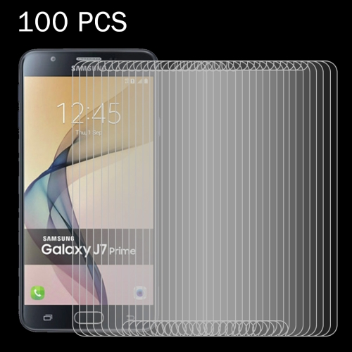 Buy 100 PCS For Samsung Galaxy J7 Prime 0.26mm 9H Surface Hardness 2.5D Explosion-proof Tempered Glass Screen Film for $27.76 in SUNSKY store