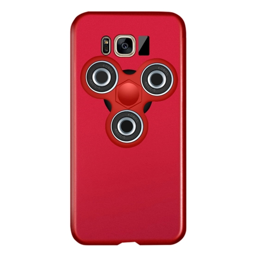 Buy For Samsung Galaxy S8 + / G955 Triangle Gyro EDC Fidget Hand Spinner Protective Back Cove Case, Red for $3.55 in SUNSKY store