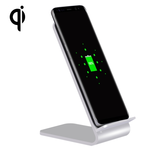 Buy YoLike A8 10W QI Wireless Standard Stand Aluminum Alloy Charger for $14.66 in SUNSKY store