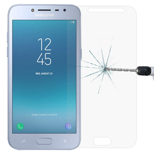 For Galaxy J2 Pro (2018) 0.26mm 9H Surface Hardness 2.5D Explosion-proof Tempered Glass Screen Film