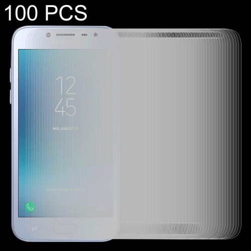 Buy 100 PCS for Samsung Galaxy J2 Pro, 2018 0.26mm 9H Surface Hardness 2.5D Explosion-proof Tempered Glass Screen Film for $29.87 in SUNSKY store