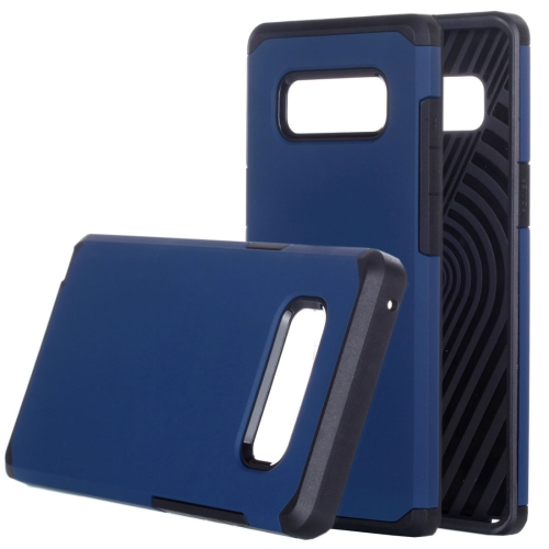 Buy Samsung Galaxy Note 8 Color Matching TPU+PC Rugged Armor Protective Back Cover Case, Small Quanitity Recommended Before Samsung Galaxy Note 8 Lanuching (Dark Blue) for $2.28 in SUNSKY store