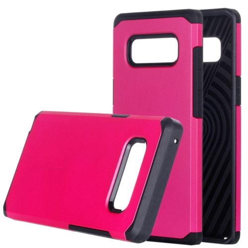 Buy Samsung Galaxy Note 8 Color Matching TPU+PC Rugged Armor Protective Back Cover Case, Small Quanitity Recommended Before Samsung Galaxy Note 8 Lanuching, Magenta for $2.28 in SUNSKY store