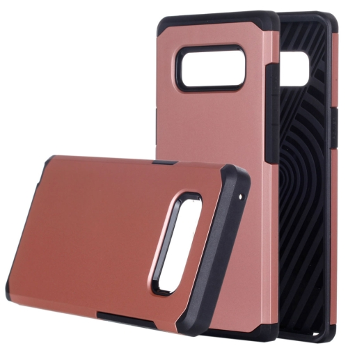 Buy Samsung Galaxy Note 8 Color Matching TPU+PC Rugged Armor Protective Back Cover Case, Small Quanitity Recommended Before Samsung Galaxy Note 8 Lanuching (Rose Gold) for $2.29 in SUNSKY store