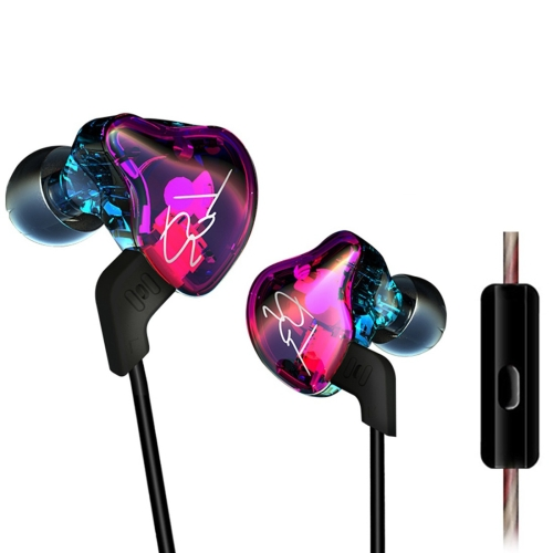 KZ ZST 1.2m 3.5mm Hanging Ear In-Ear Style Wire Control Earphone, For iPhone, iPad, Galaxy, Huawei, Xiaomi, LG, HTC and Other Smart Mobile Phones
