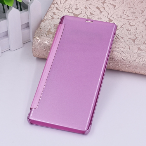 Buy For Samsung Galaxy Note 8 PU + PC High Transparency Frosted Horizontal Flip Leather Case Case with Sleep / Wake-up Function, Magenta for $3.03 in SUNSKY store