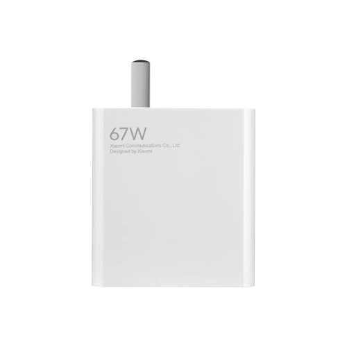 Original Xiaomi MDY-12-ES 67W USB Port Quick Charging Wall Charger + Type-C Cable, US Plug (White)  - buy with discount
