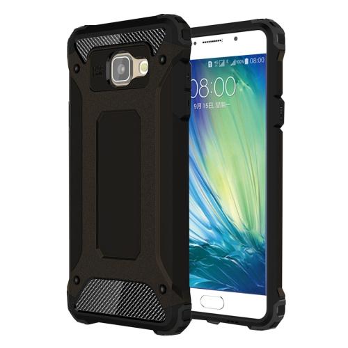 For Galaxy A5 (2016) / A510 Tough Armor TPU + PC Combination Case(Black)