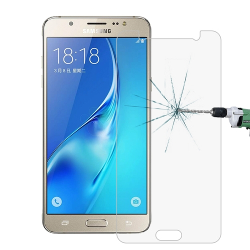 For Galaxy J7(2016) / J710 0.26mm 9H Surface Hardness 2.5D Explosion-proof Tempered Glass Screen Film