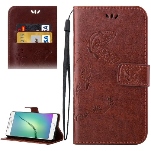 Buy For Samsung Galaxy A5, 2016 / A510 Crazy Horse Texture Printing Horizontal Flip Leather Case with Holder & Card Slots & Wallet & Lanyard, Coffee for $2.55 in SUNSKY store