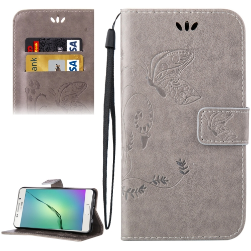 Buy For Samsung Galaxy A5, 2016 / A510 Crazy Horse Texture Printing Horizontal Flip Leather Case with Holder & Card Slots & Wallet & Lanyard, Grey for $2.55 in SUNSKY store