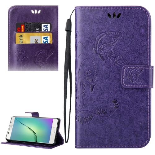 Buy For Samsung Galaxy A5, 2016 / A510 Crazy Horse Texture Printing Horizontal Flip Leather Case with Holder & Card Slots & Wallet & Lanyard, Purple for $2.55 in SUNSKY store