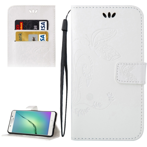 Buy For Samsung Galaxy A5, 2016 / A510 Crazy Horse Texture Printing Horizontal Flip Leather Case with Holder & Card Slots & Wallet & Lanyard, White for $2.55 in SUNSKY store