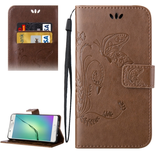 Buy For Samsung Galaxy A5, 2016 / A510 Crazy Horse Texture Printing Horizontal Flip Leather Case with Holder & Card Slots & Wallet & Lanyard, Brown for $2.55 in SUNSKY store
