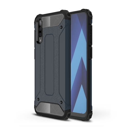 Magic Armor TPU + PC Combination Case for Galaxy A50 (Navy Blue)