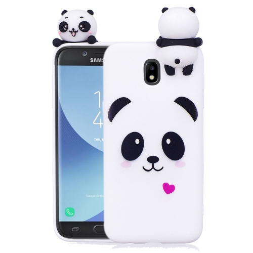 For Galaxy J5 (2017)   J530 ( EU Version) Pattern TPU Protective Case Back  Cover with 3D Doll ... 73f1b2f2785