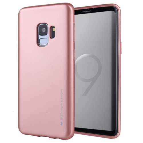 Buy MERCURY GOOSPERY I JELLY METAL for Samsung Galaxy S9 TPU Full Coverage Soft Protective Back Case (Rose Gold) for $2.92 in SUNSKY store