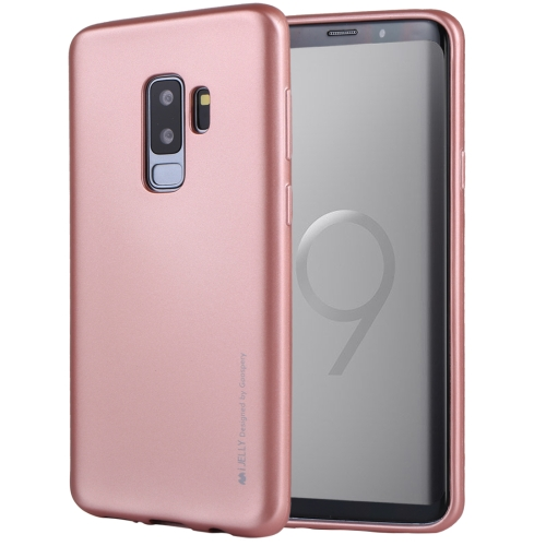 Buy MERCURY GOOSPERY I JELLY METAL for Samsung Galaxy S9+ TPU Full Coverage Soft Protective Back Case (Rose Gold) for $2.92 in SUNSKY store