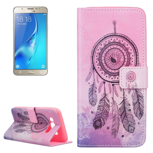 Buy For Samsung Galaxy J5, 2016 / J510 Dreamcatcher Pattern Horizontal Flip Leather Case with Holder & Card Slots & Wallet for $2.13 in SUNSKY store