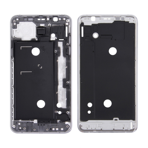 Front Housing LCD Frame Bezel Plate for Galaxy J7 (2016) / J710(Grey)