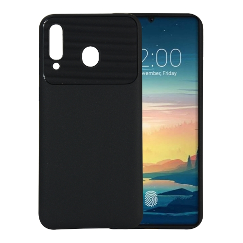 Beetle Series Shockproof TPU Case for Galaxy M30 (Black)