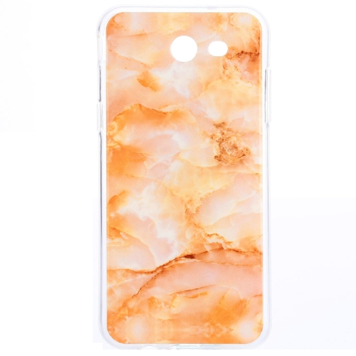 Buy For Samsung Galaxy J7, 2017 (US Version) Yellow Marble Pattern IMD Workmanship TPU Protective Back Cover Case for $1.15 in SUNSKY store