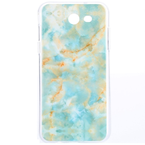 Buy For Samsung Galaxy J7, 2017 (US Version) Emerald Green Marble Pattern IMD Workmanship TPU Protective Back Cover Case for $1.20 in SUNSKY store